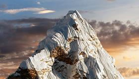 Picture of mountain peak.