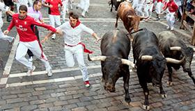 Photo of Running of the Bulls