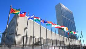 Photo of UN building