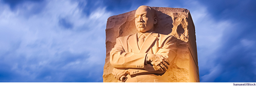 Statue of Dr. Martin Luther King Jr.