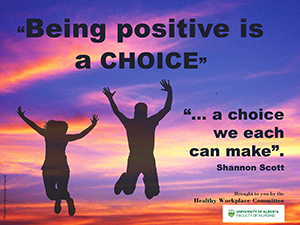 Being Positive poster