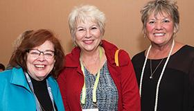 Karren Kowalski, Joan Jones-Schenk, and Kim Harper