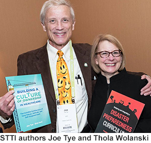 STTI authors Joe Tye and Thola Wolanski