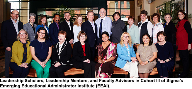 Cohort III of Sigma's Emerging Educational Administrator Institute