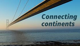 Connecting continents blog