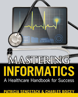 Book cover of Mastering Informatics