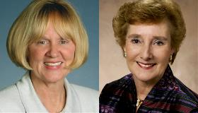 Photos of Bonnie Wesorick and Nancy Dickenson-Hazard
