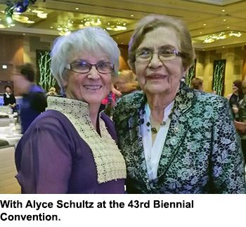 With Alyce Schultz