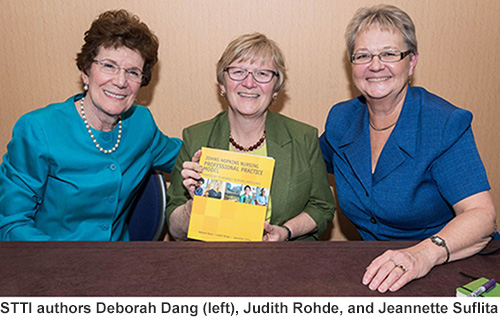 STTI authors Deborah Dang, Judith Rohde, and Jeannette Suflita