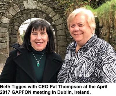 Beth Tigges and Pat Thompson