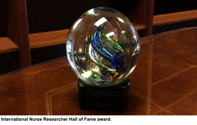 International Nurse Researcher Hall of Fame: My path to induction